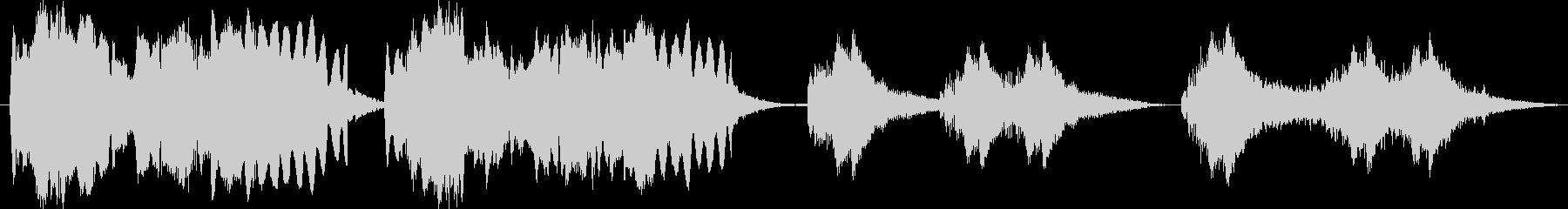 フルート、ハープ、ウィンドチャイム...の未再生の波形