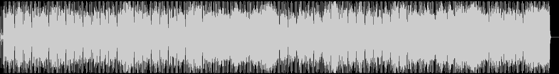 レゲエ 甘く切ないラヴァーズロックの未再生の波形