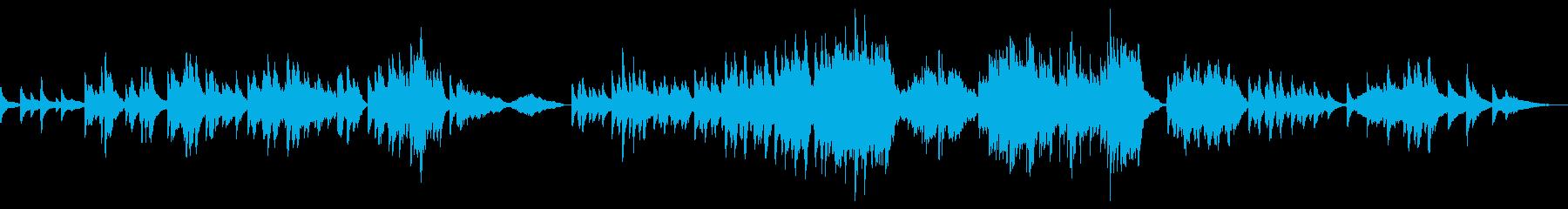 ピアノとボイスが織りなす切ないメロディーの再生済みの波形