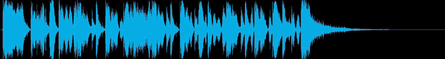 Brass Funk 15秒CMの再生済みの波形