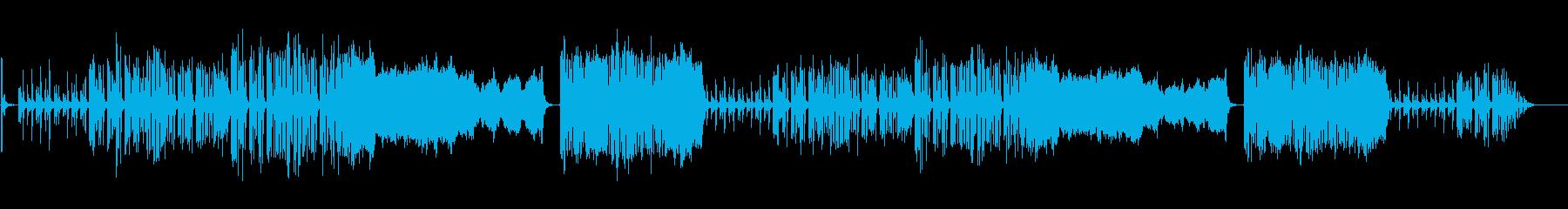 ほんのり和風なほのぼのBGMの再生済みの波形