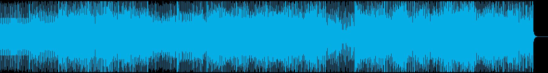 あわただしい、焦り、朝の10分、テクノの再生済みの波形