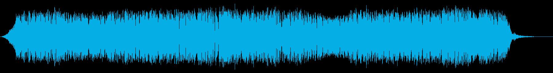テルミン:揺らめくお化け屋敷音楽の...の再生済みの波形