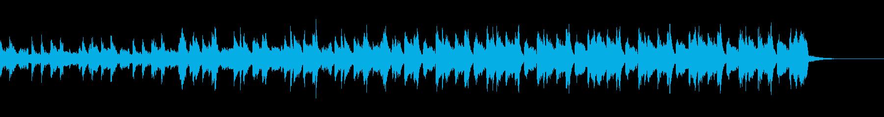 爽やかで切ない変則ビートの再生済みの波形