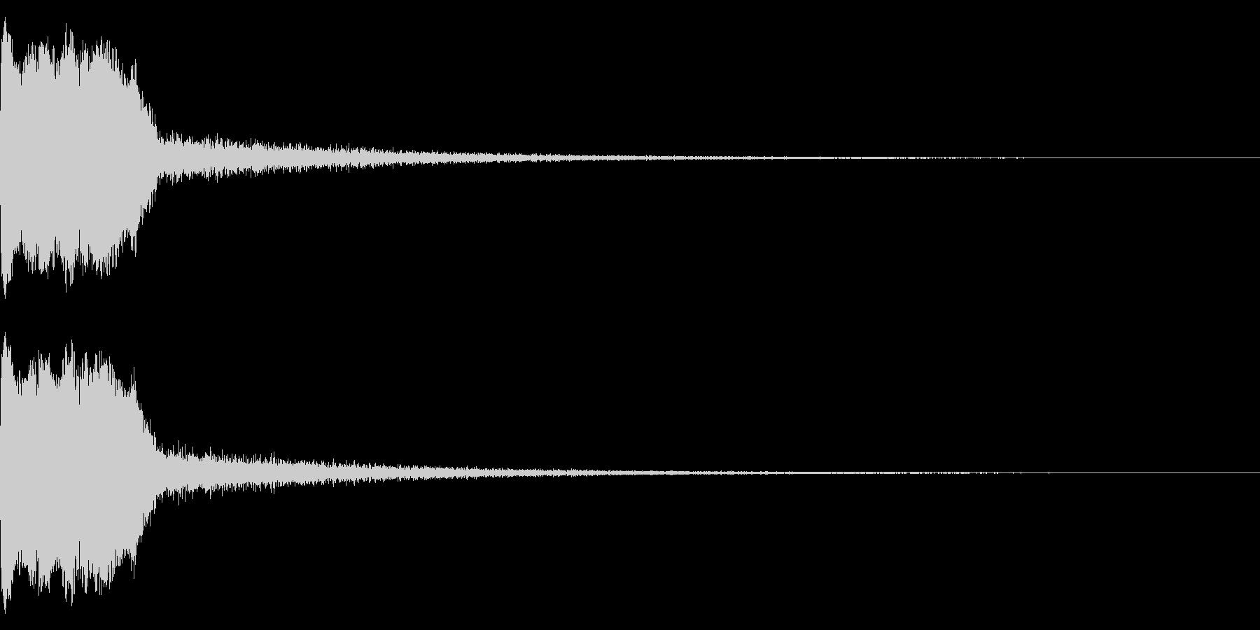 DJFX ヒットチャート発表前SE 29の未再生の波形