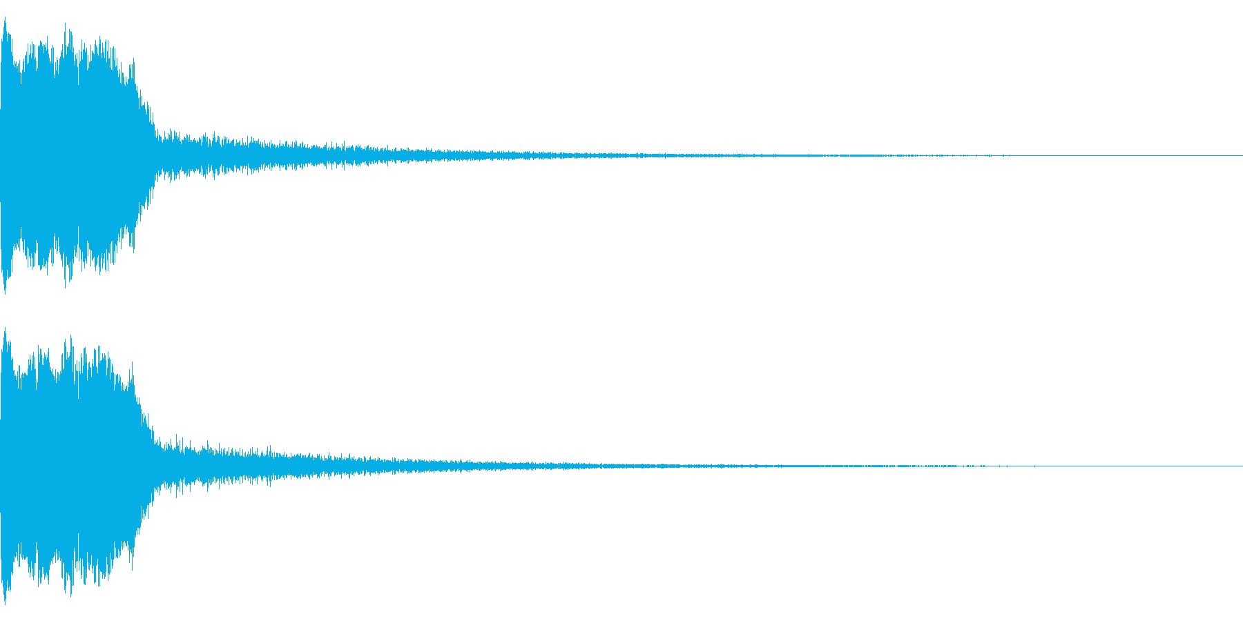 DJFX ヒットチャート発表前SE 29の再生済みの波形