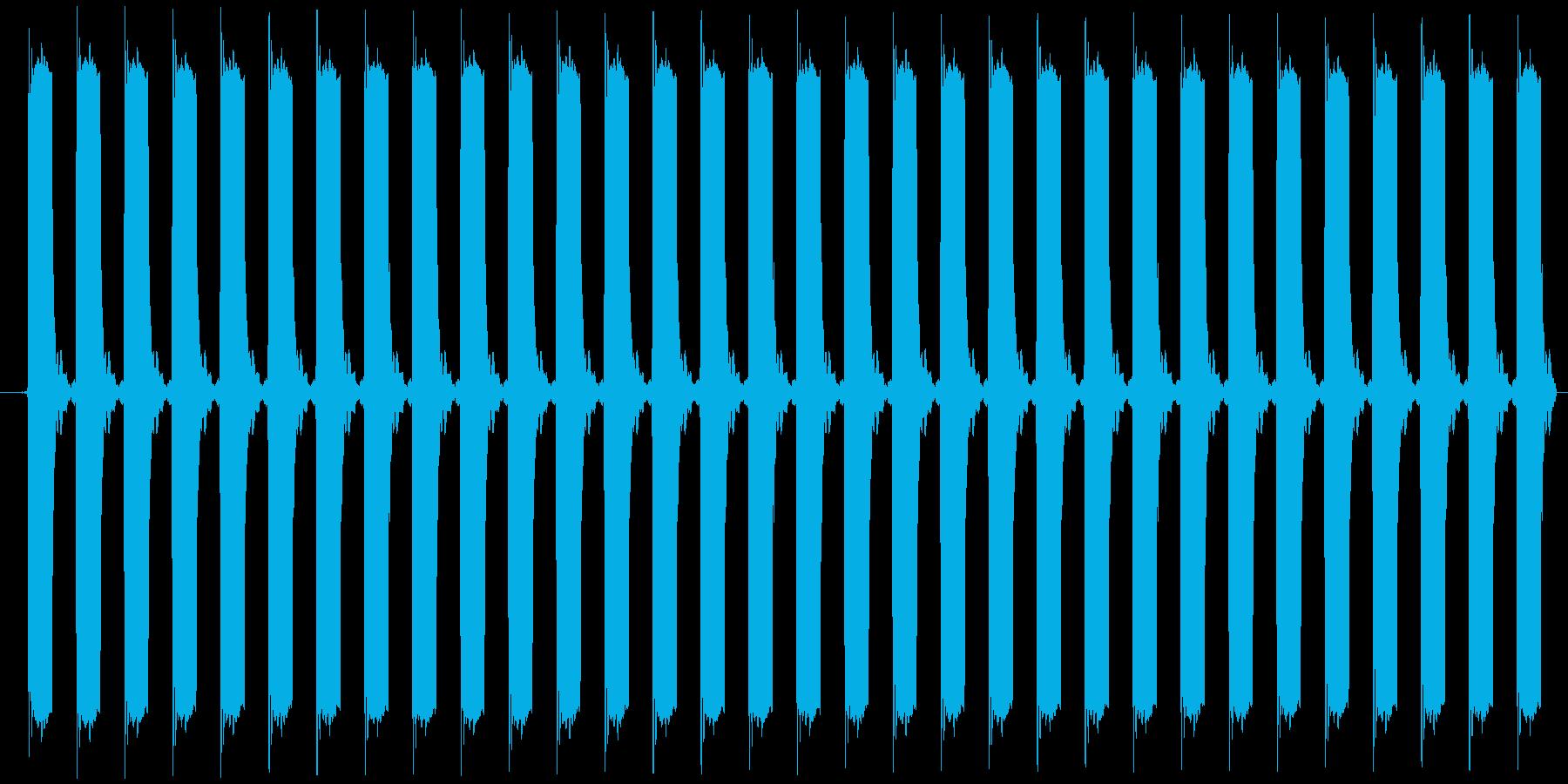 ピピピピ...(目覚まし時計、アラーム)の再生済みの波形