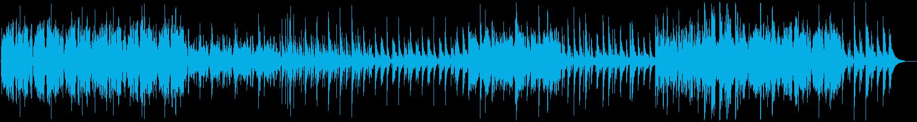 ケルト-森-アイリッシュ-優しい-可愛いの再生済みの波形