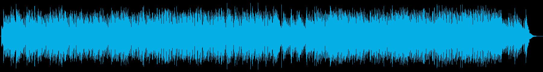 ピアノの美しいナチュラルで落ち着く曲の再生済みの波形