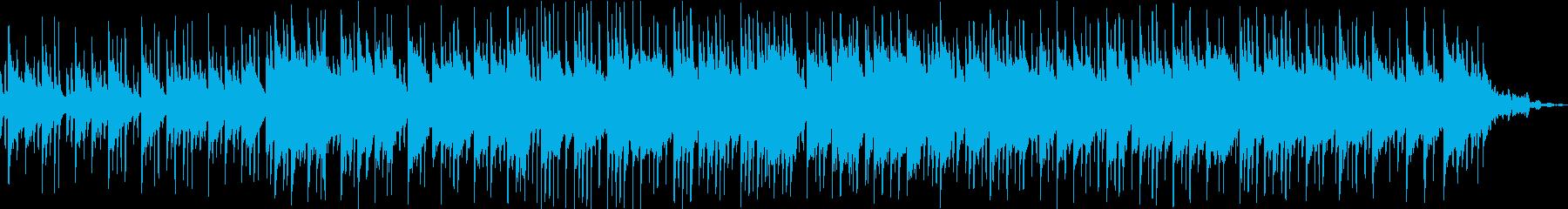 アジアンテイストの楽曲の再生済みの波形