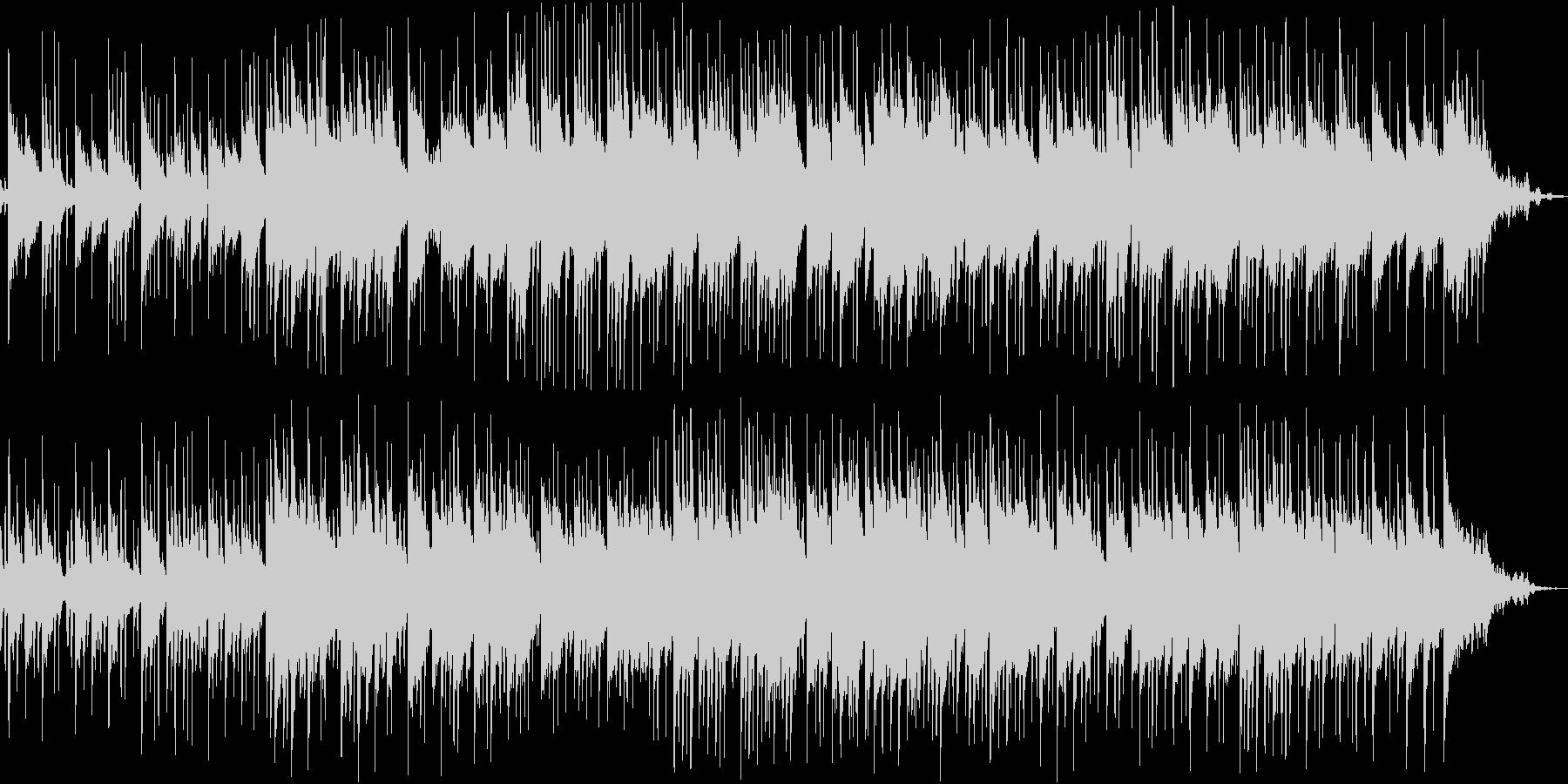 アジアンテイストの楽曲の未再生の波形