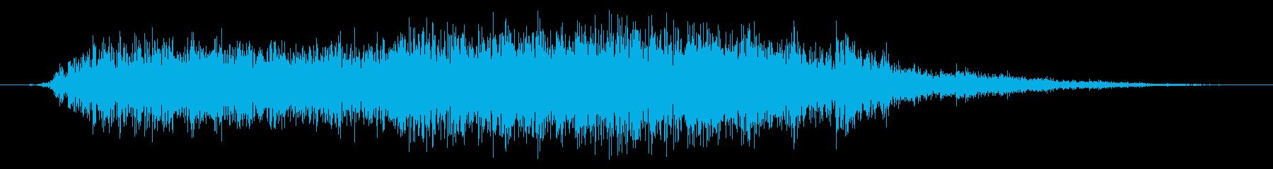 スパッタリングスライシングフーシ7の再生済みの波形