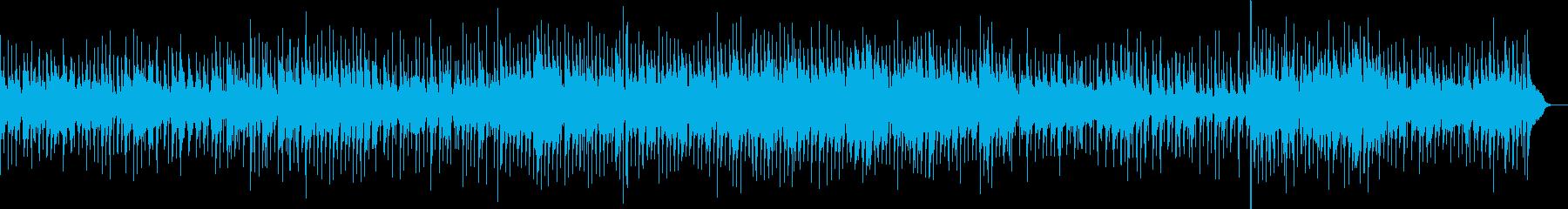 オシャレで哀愁漂うスロー・ジャズの再生済みの波形