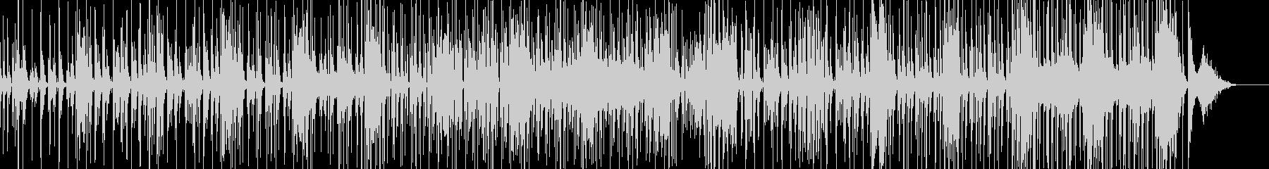 チープで軽いコメディタッチのBGMの未再生の波形