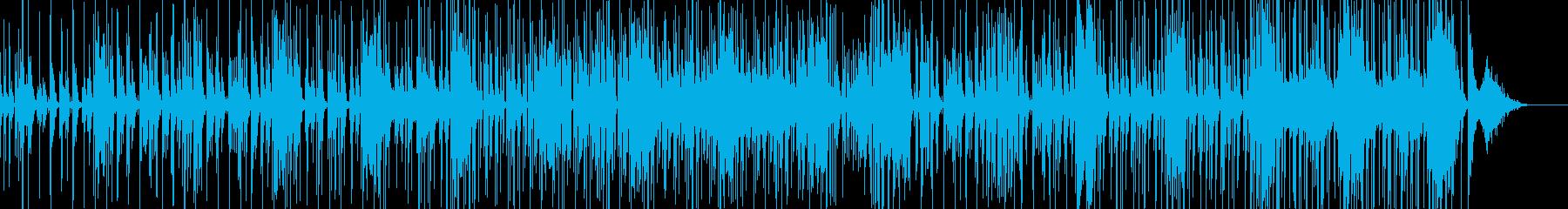 チープで軽いコメディタッチのBGMの再生済みの波形
