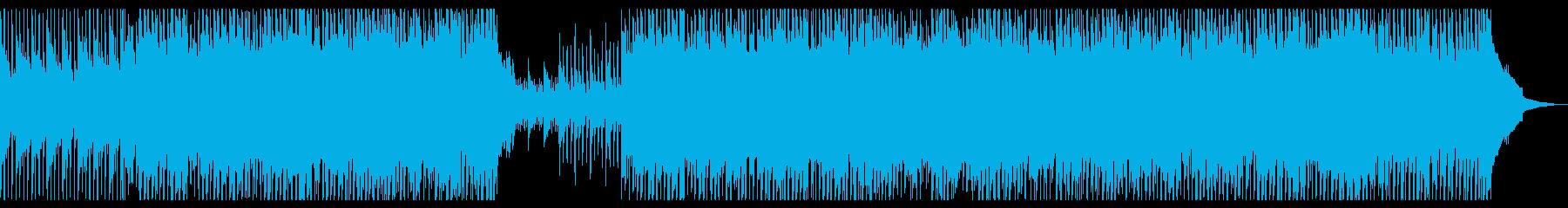 元気なバイオリンコーポレート・企業VPの再生済みの波形