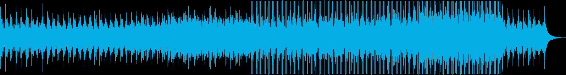 美しい綺麗ポップ (inst)の再生済みの波形