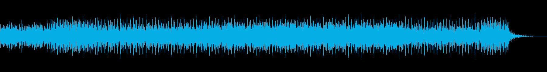 スピード感ある近未来なメロディーの再生済みの波形
