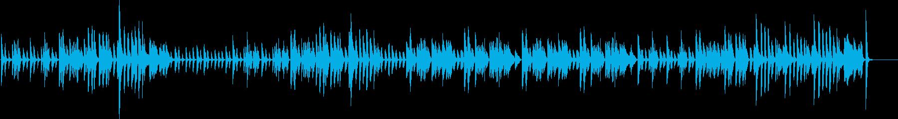 明るく呑気・ゆるいラグタイム・ピアノソロの再生済みの波形