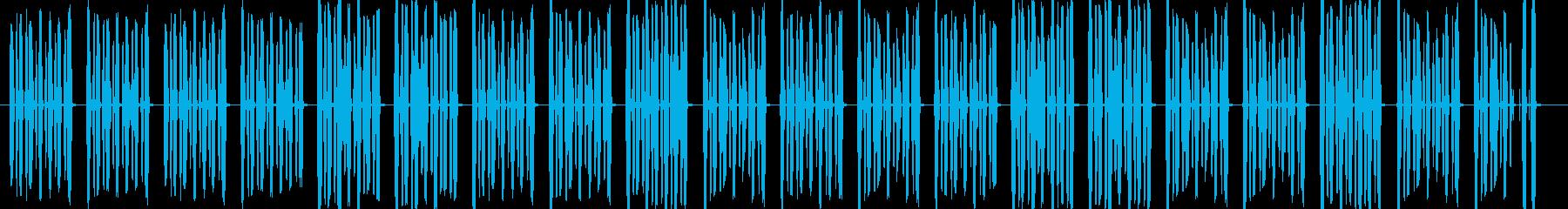 ほのぼのした可愛らしいイメージですの再生済みの波形