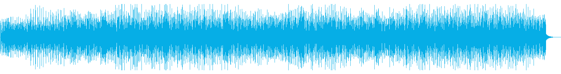 [Without Percussion] Refreshing for news and news's reproduced waveform