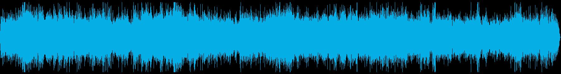 特急 電車 走行音 ステレオ 11分の再生済みの波形