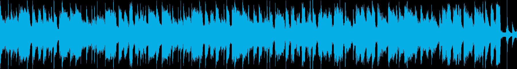 CM等、爽やかでほのぼのポップ曲ループaの再生済みの波形