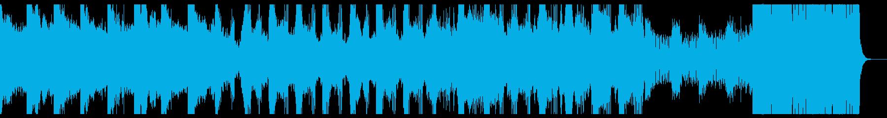 抽象画家の閃き。エレクトロニカ。の再生済みの波形