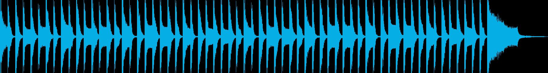 スマホTVCMの様な明るいジングル。の再生済みの波形