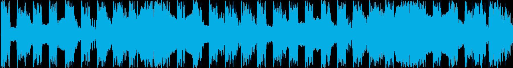 軽快だけど少し変な曲です。18秒の曲で…の再生済みの波形