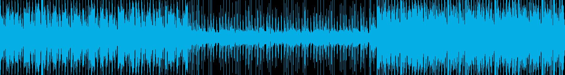 【ループ】街・明るくて軽快なBGM128の再生済みの波形