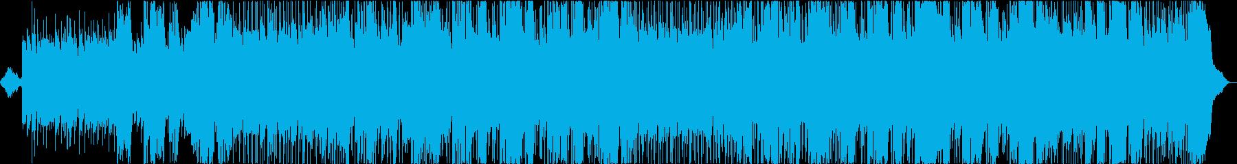 アコギ&伸びやかな男性Voバラードの再生済みの波形