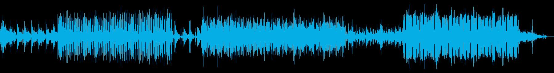 水底のようなディープテクノの再生済みの波形