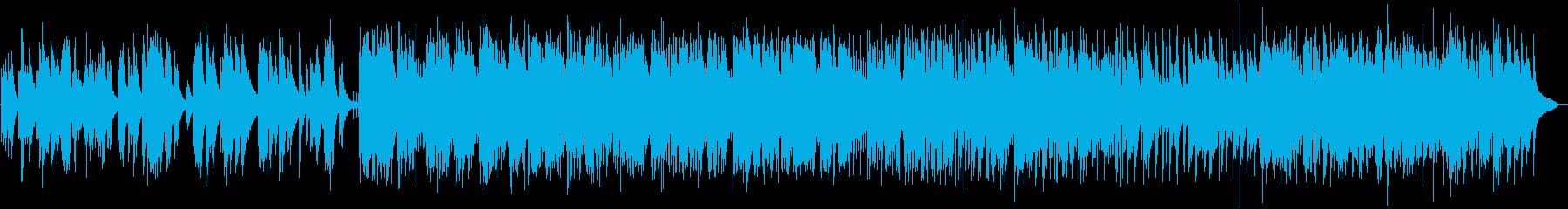 ピアノトリオによるジャズスタンダードの再生済みの波形