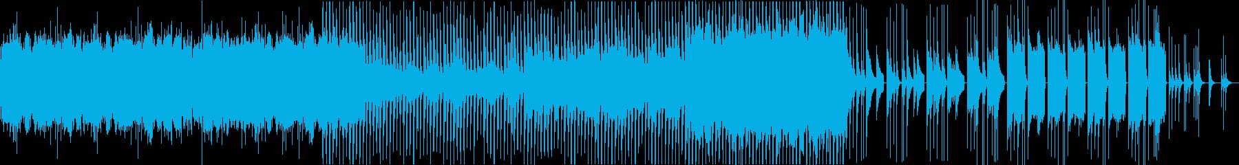 テクスチャー魔法鉄琴よるファンタジー曲の再生済みの波形