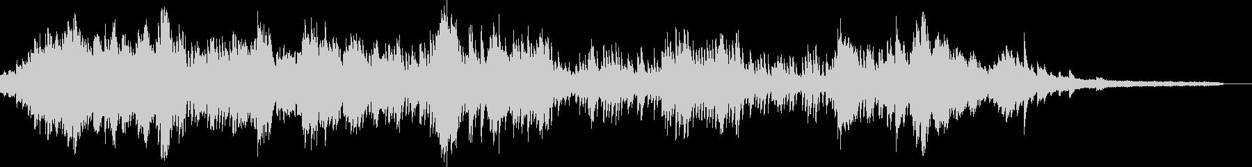 ショパンのプレリュードOp28のNo23の未再生の波形