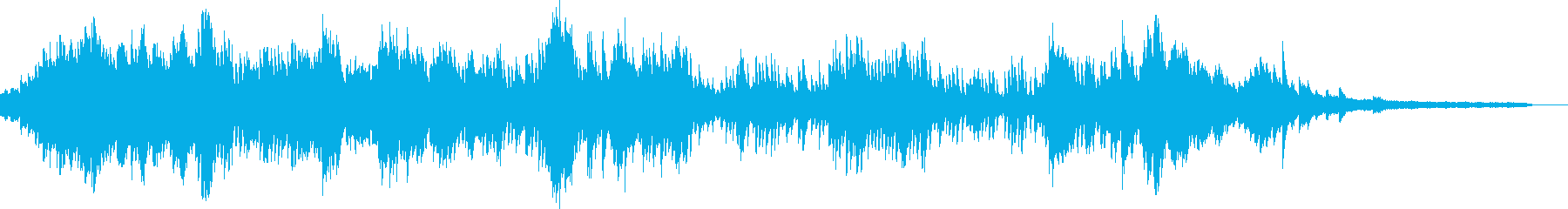 ショパンのプレリュードOp28のNo23の再生済みの波形