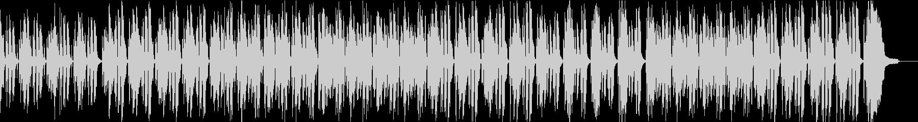 子供向け リコーダーのほのぼのとした曲の未再生の波形