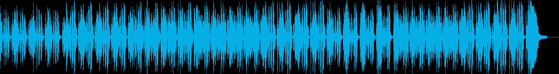 子供向け リコーダーのほのぼのとした曲の再生済みの波形