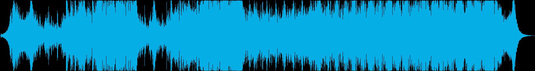琴と太鼓が印象的な激しいバトル曲の再生済みの波形