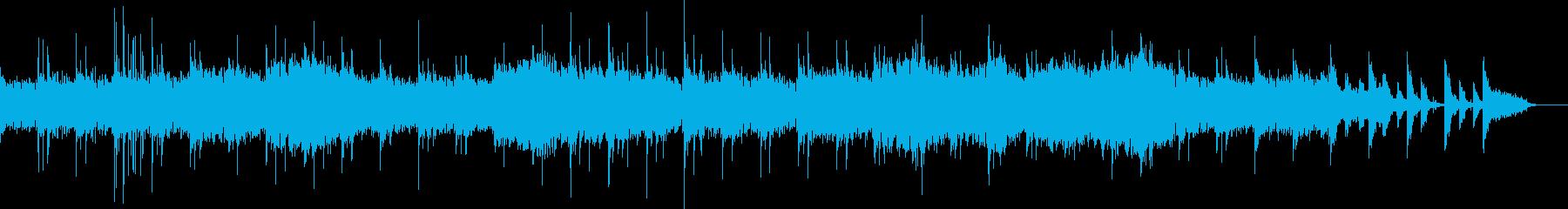 マリンバと歌手・細胞増殖シーンなど実験系の再生済みの波形