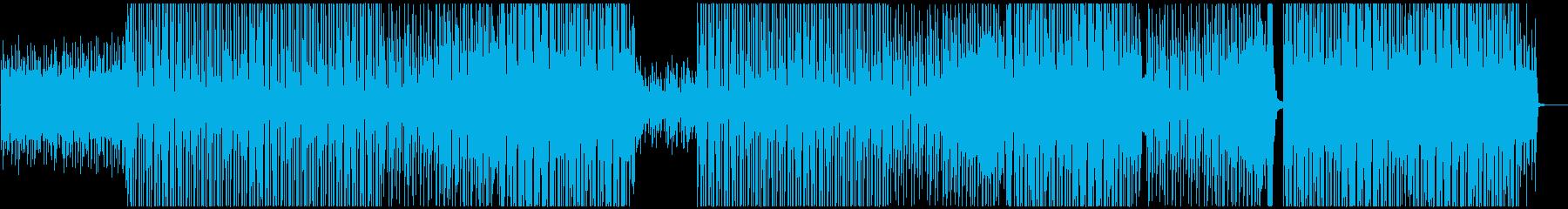 K-Pop、レゲトン、ラテン、ポップス♪の再生済みの波形