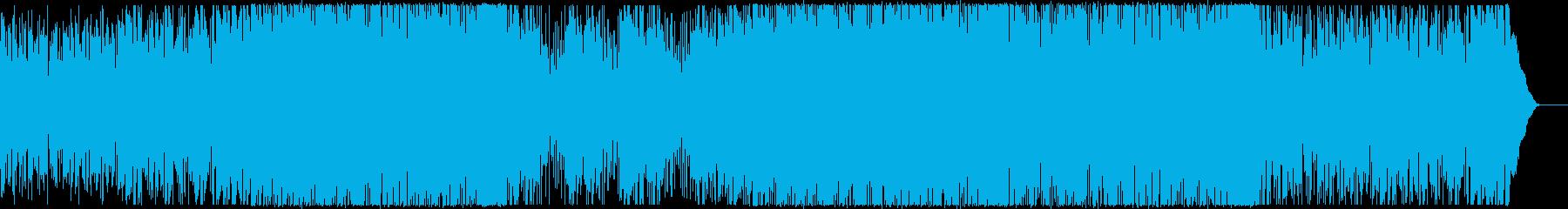 ほのぼの・おしゃれ・CM・ジャズの再生済みの波形