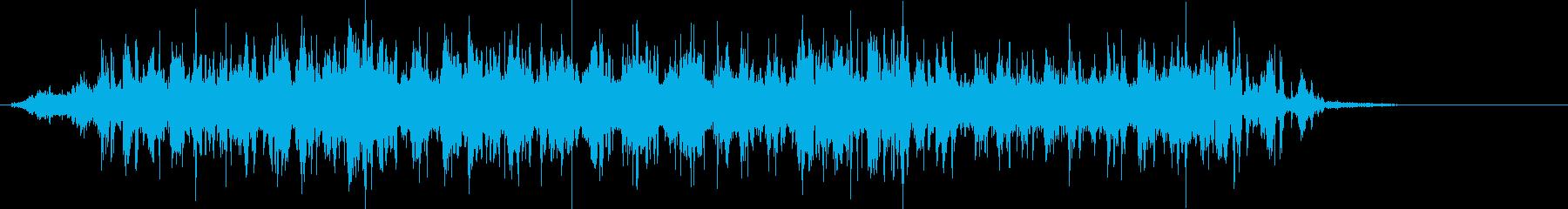 Blenderの電源を入れ、重いス...の再生済みの波形