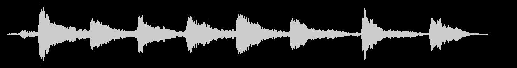 ソープアーノルド教会:1ベル:高速リングの未再生の波形