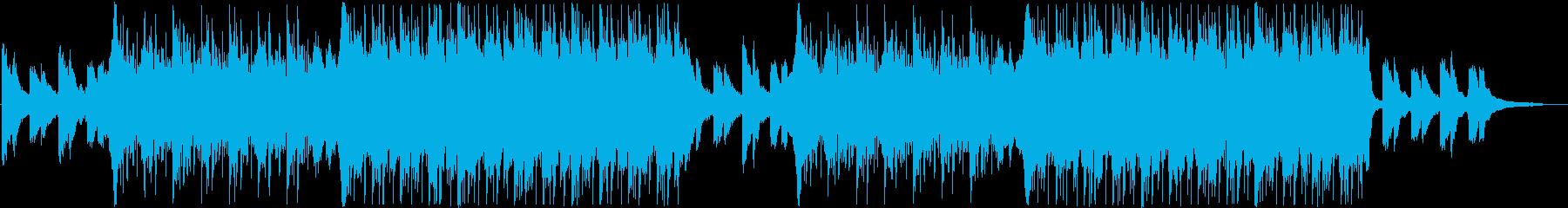 決断の時を表現したHip-Hop曲の再生済みの波形