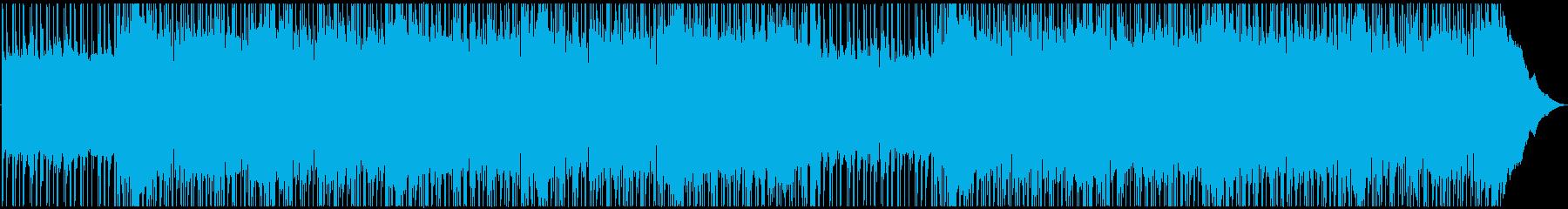【メロなし】動画やCM 爽快感ロックの再生済みの波形