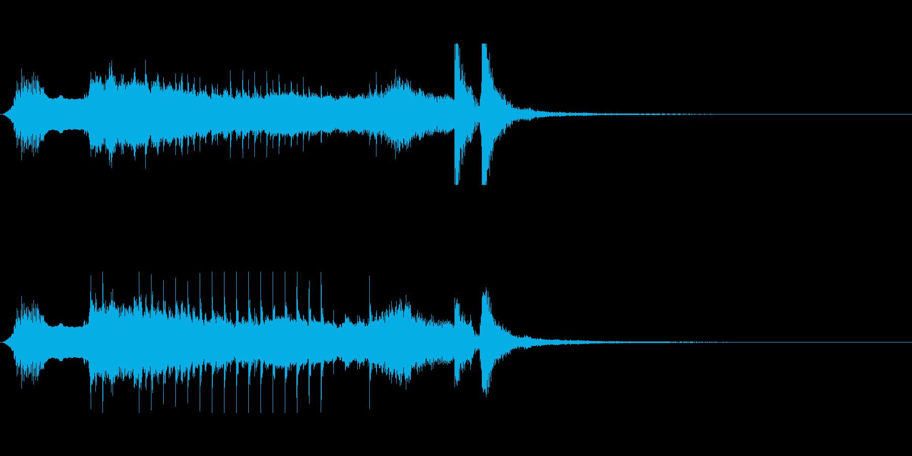 和楽器のサウンドでワンポイントなMEの再生済みの波形