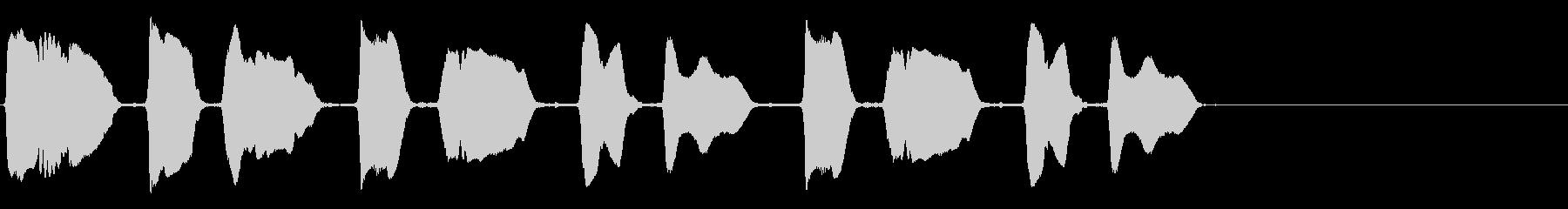 バリトンサックス:スキーキードンキ...の未再生の波形