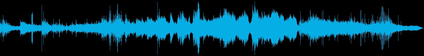 【テクスチュア】ダークサイドなイメージの再生済みの波形